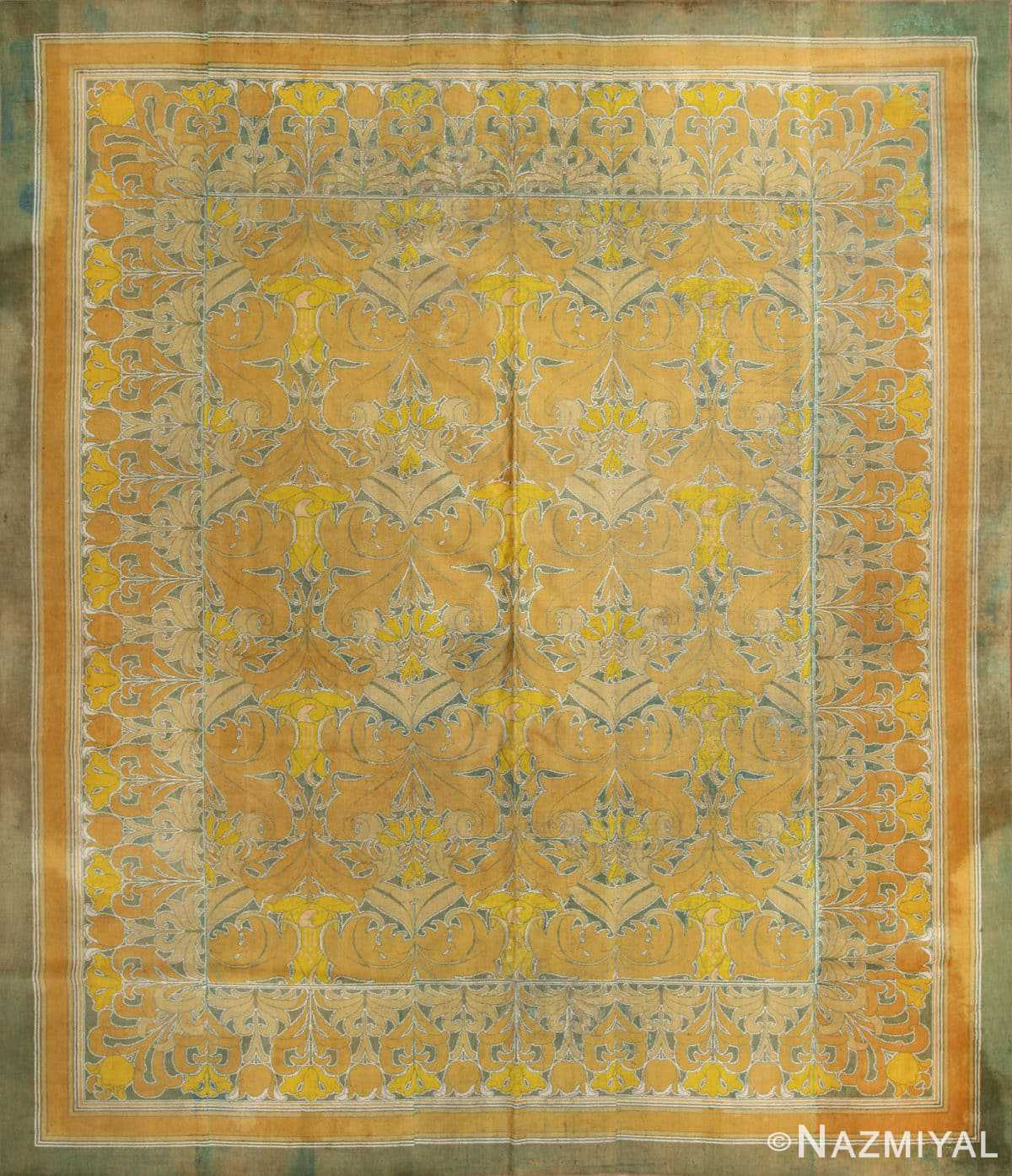 Antique Arts And Crafts Rugs: Antique Wilton English Arts And Crafts Rug 2657 Nazmiyal