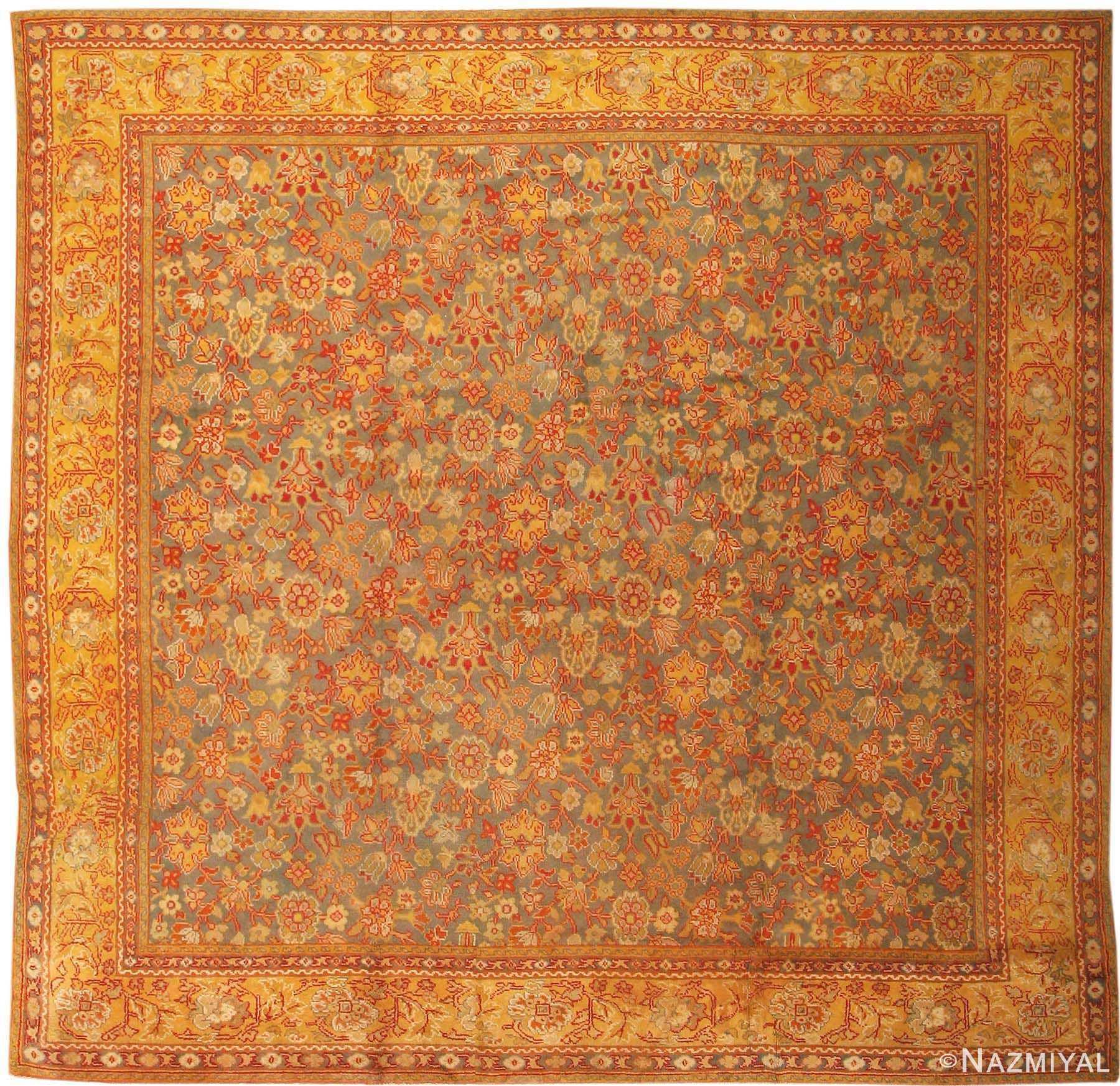 antique english axminster rug 2772 Nazmiyal
