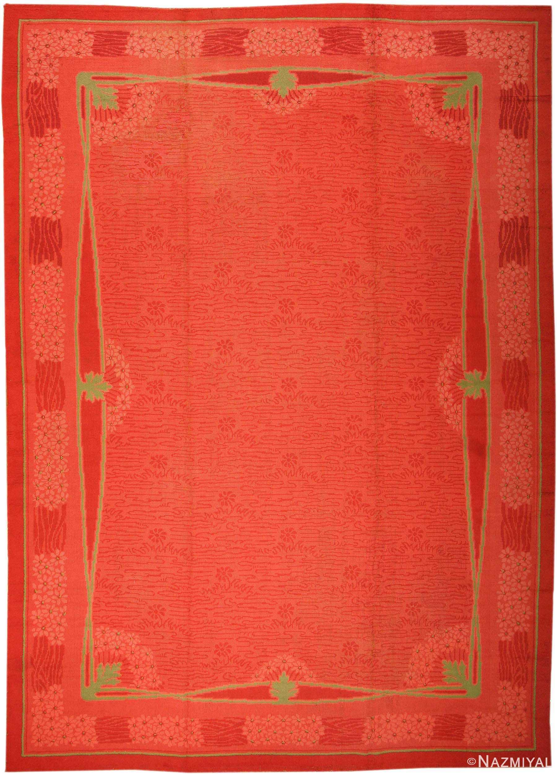 large size french art deco vintage rug 3217 Nazmiyal