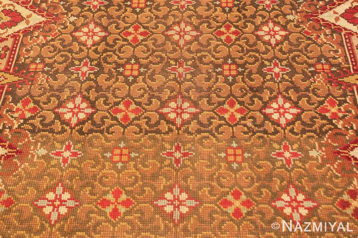 Background Antique Irish rug 1285 by Nazmiyal