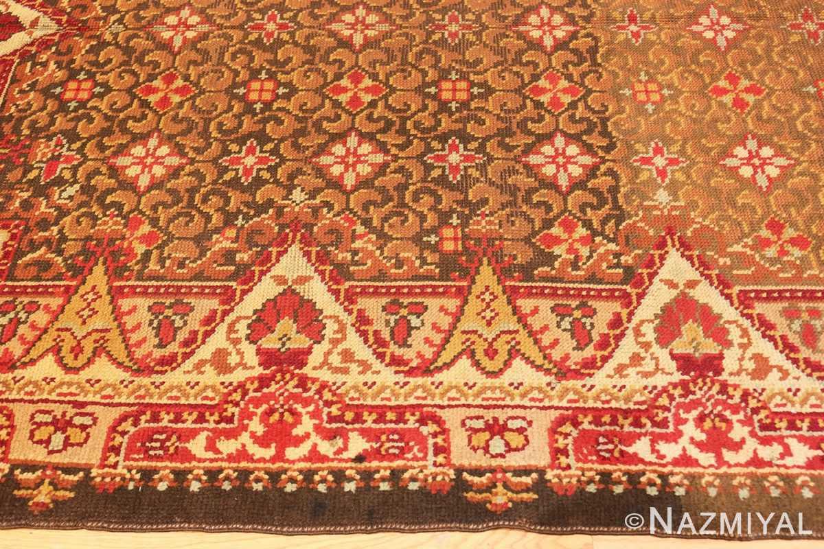 Border Antique Irish rug 1285 by Nazmiyal