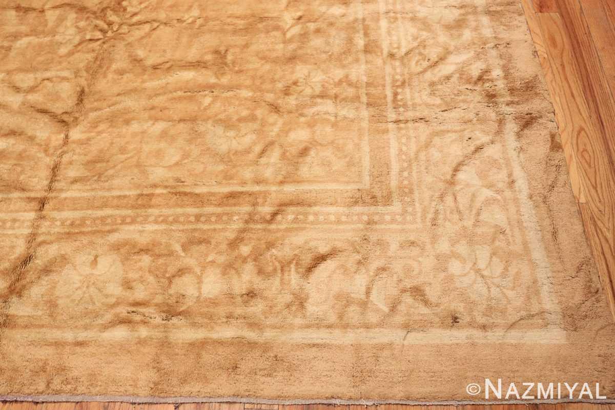Corner Antique Indian Agra Oriental rug 1197 by Nazmiyal