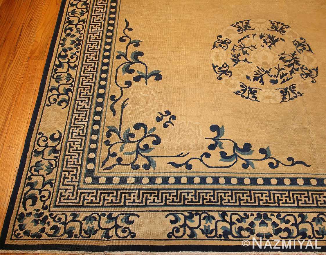 decorative antique chinese design rug 2139 border Nazmiyal