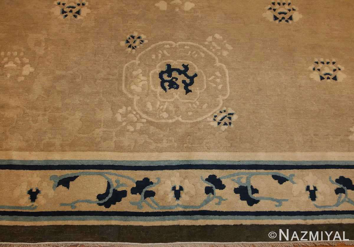 decorative antique chinese design rug 2139 field Nazmiyal