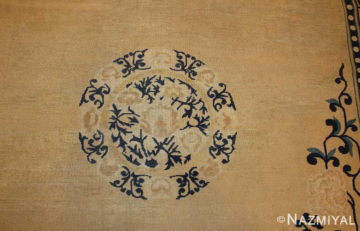decorative antique chinese design rug 2139 medallion Nazmiyal