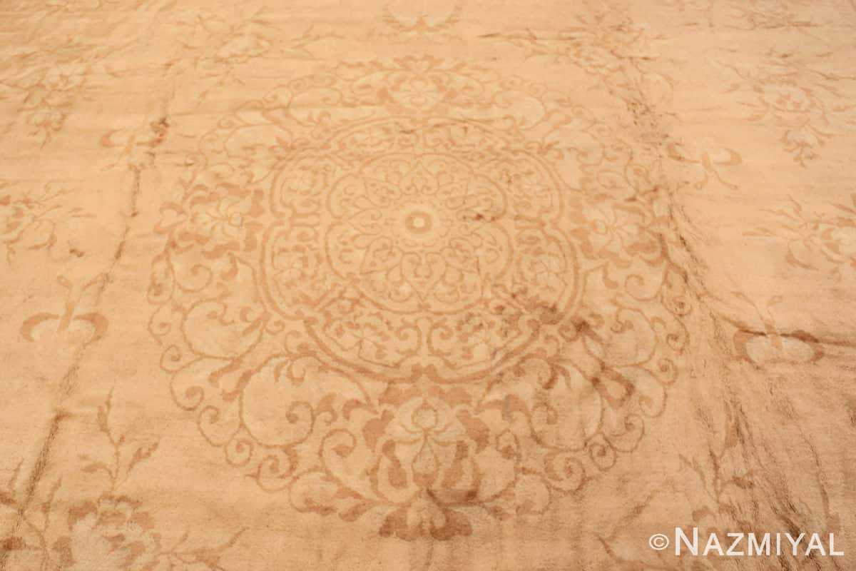 Field Antique Indian Agra Oriental rug 1197 by Nazmiyal