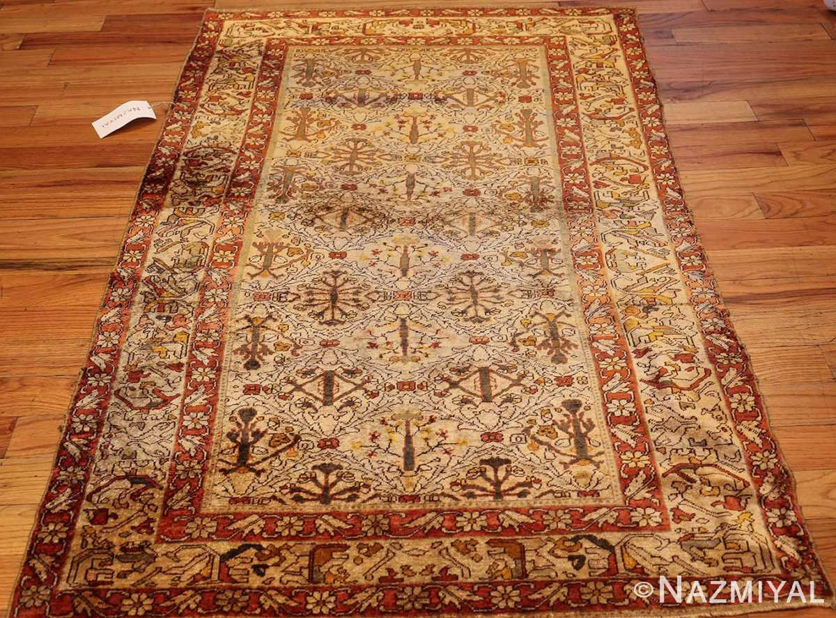 fine silk kayseri turkish antique rug 1288 whole Nazmiyal