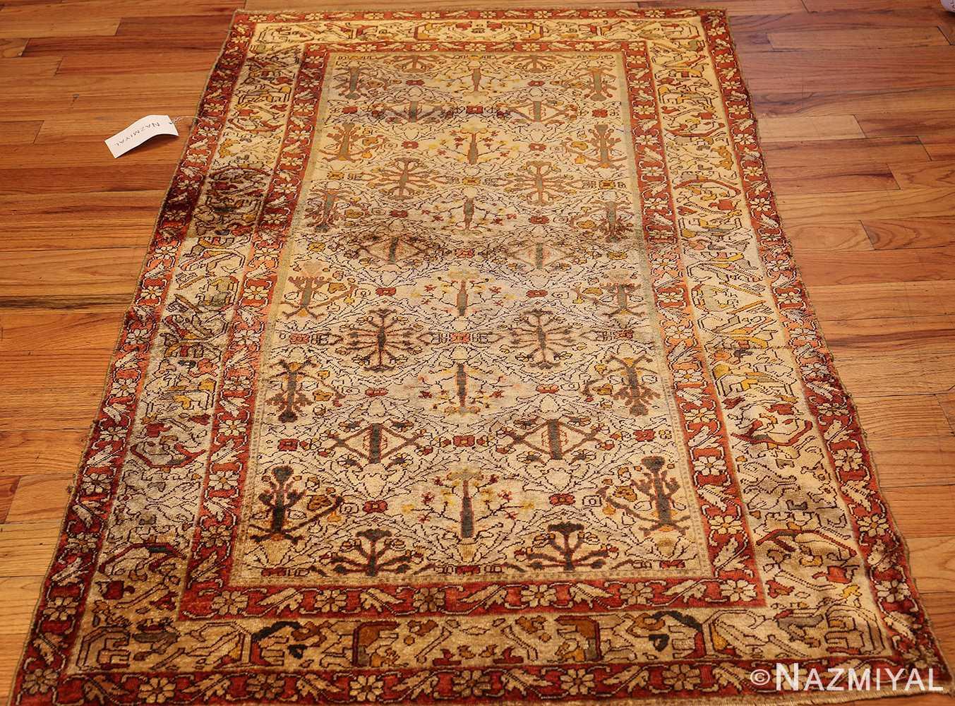 fine silk kayseri turkish antique rug 1288 whole Nazmiyal