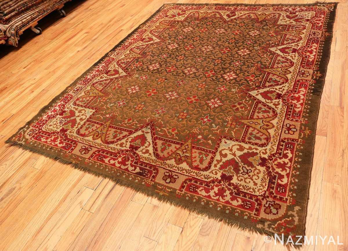 Full Antique Irish rug 1285 by Nazmiyal