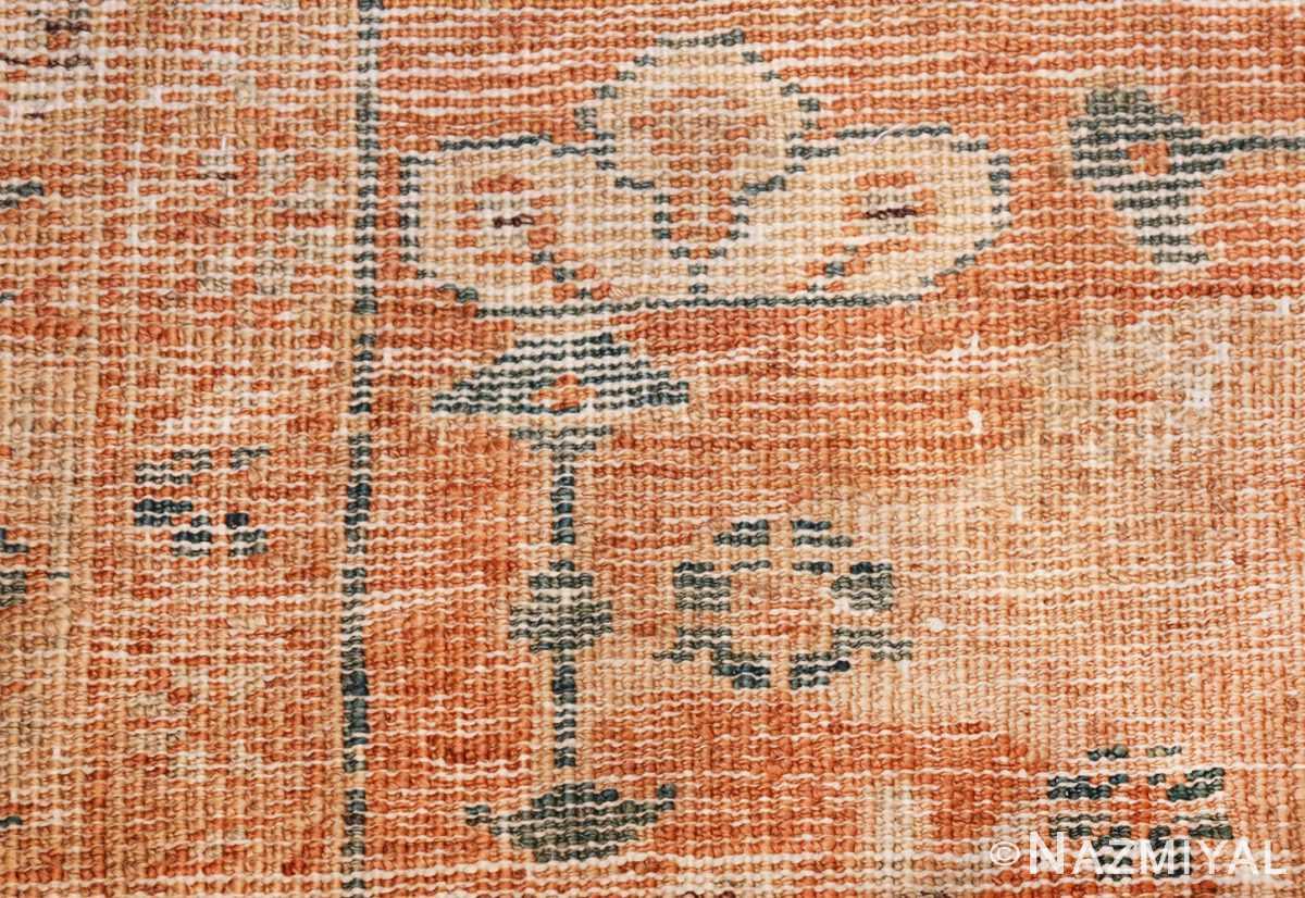 large antique ivory background persian sultanabad rug 3250 knots Nazmiyal