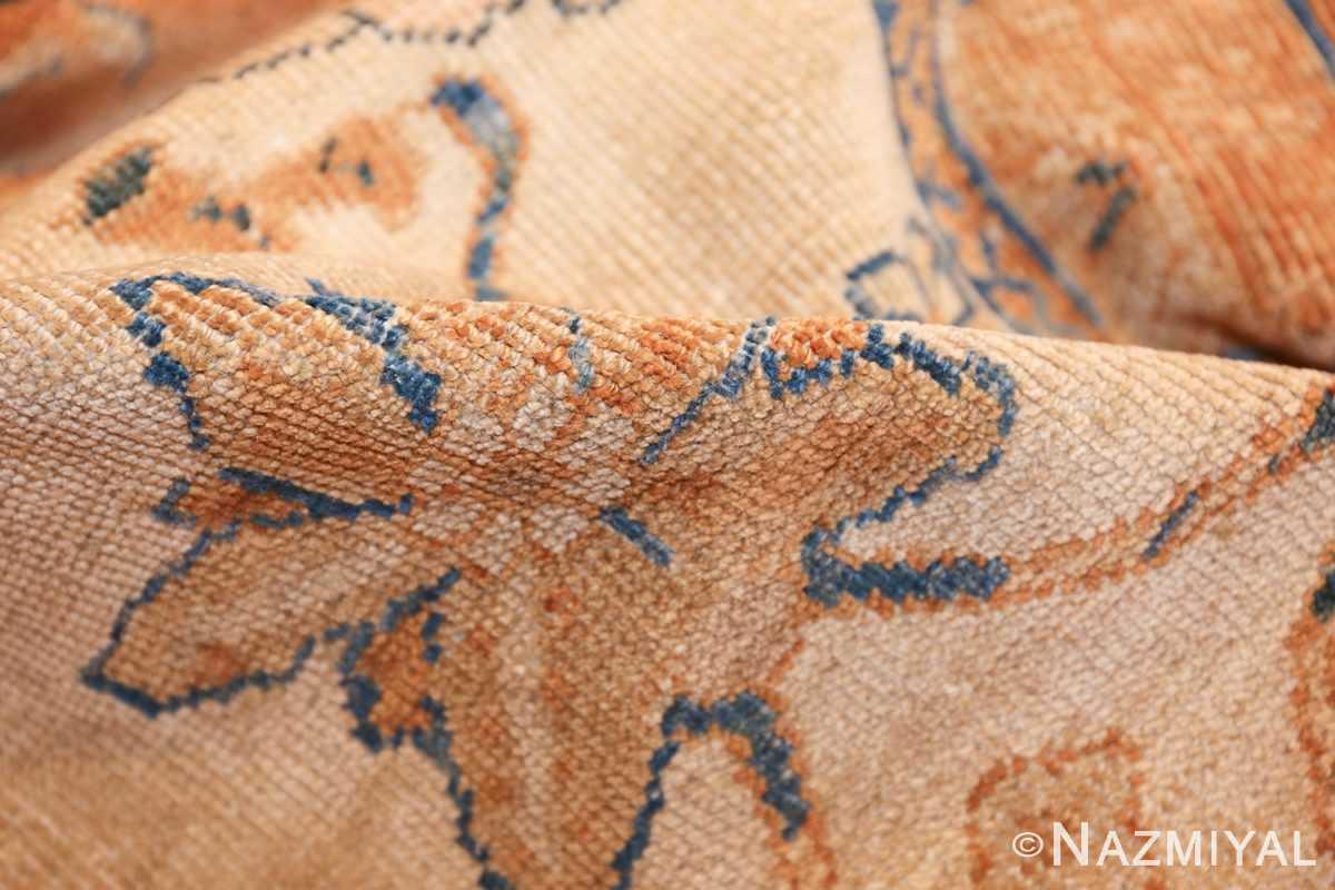 large antique ivory background persian sultanabad rug 3250 pile Nazmiyal