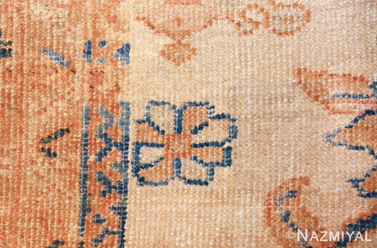large antique ivory background persian sultanabad rug 3250 tiny Nazmiyal