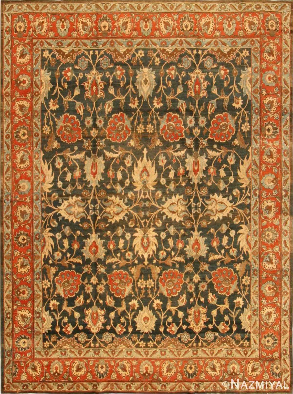 persian antique tabriz rug 41887 Nazmiyal