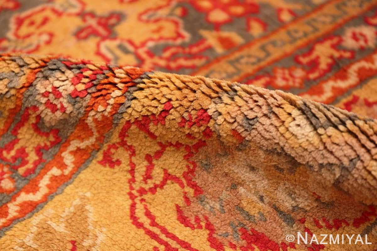 Pile Antique Gray Background English Axminster rug 2772 by Nazmiyal