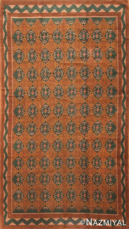 Vintage Finnish Scandinavian Pile Rug #3367 by Nazmiyal Antique Rugs