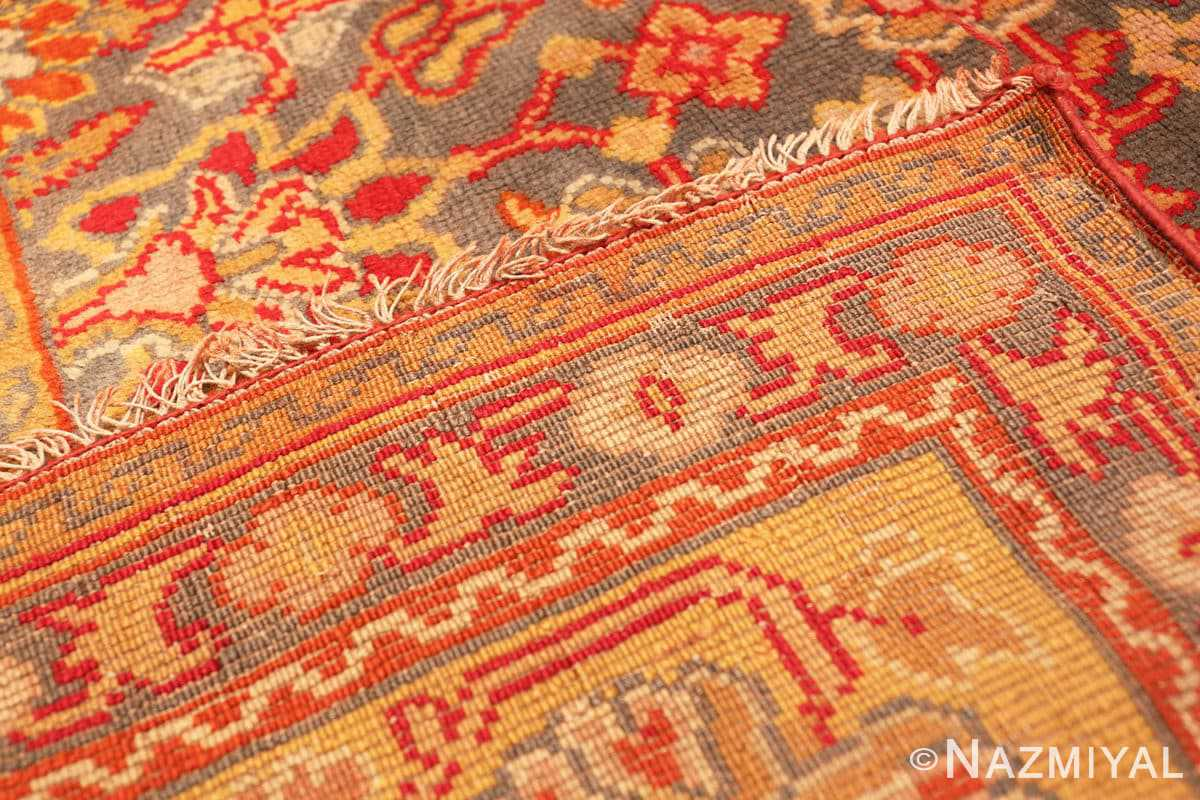 Weave Antique Gray Background English Axminster rug 2772 by Nazmiyal