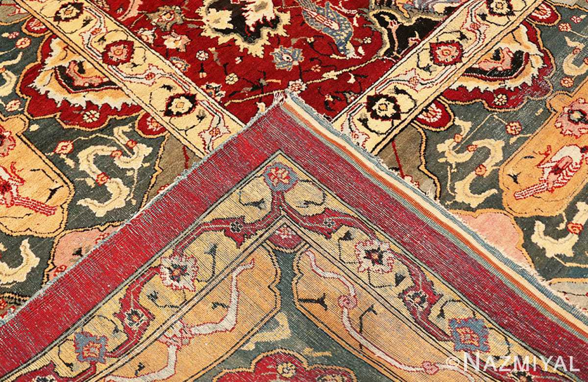 Weave Antique Indian Agra rug 41269 by Nazmiyal