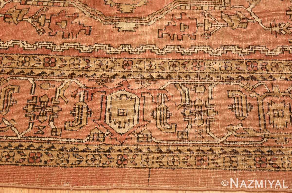 antique amritsar indian rug 1074 border Nazmiyal