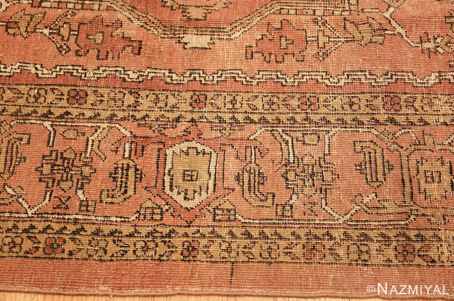 antique amritsar indian rug 1074 border Nazmiyal