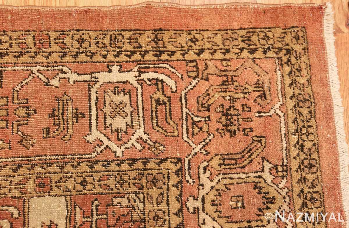 antique amritsar indian rug 1074 corner Nazmiyal