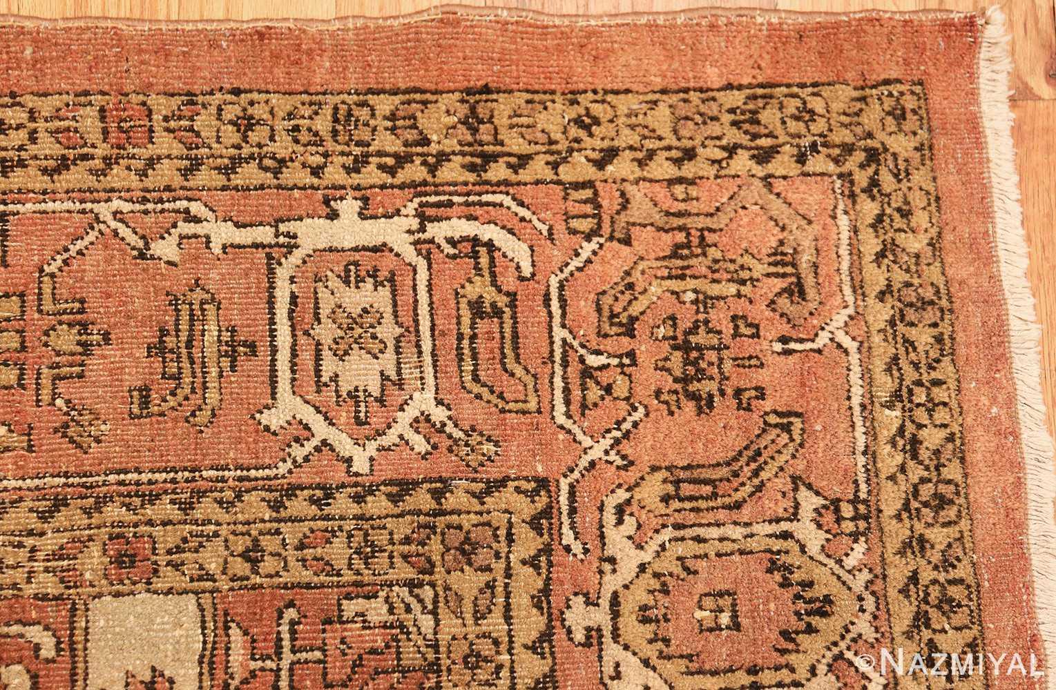 antique amritsar indian rug 1074 corner Nazmiyal