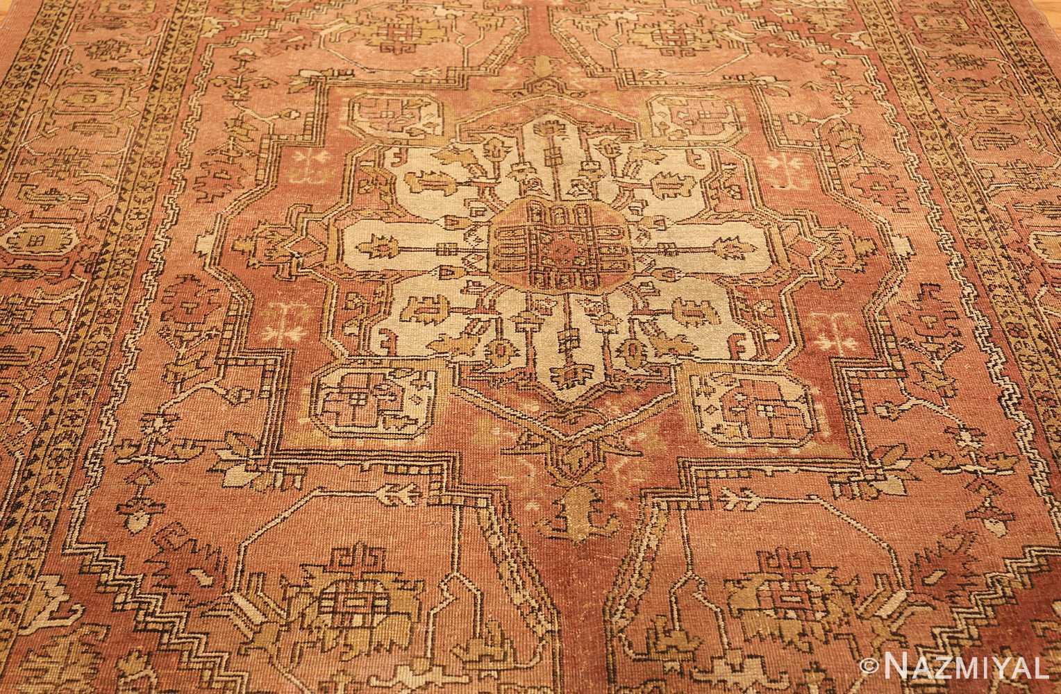 antique amritsar indian rug 1074 field Nazmiyal