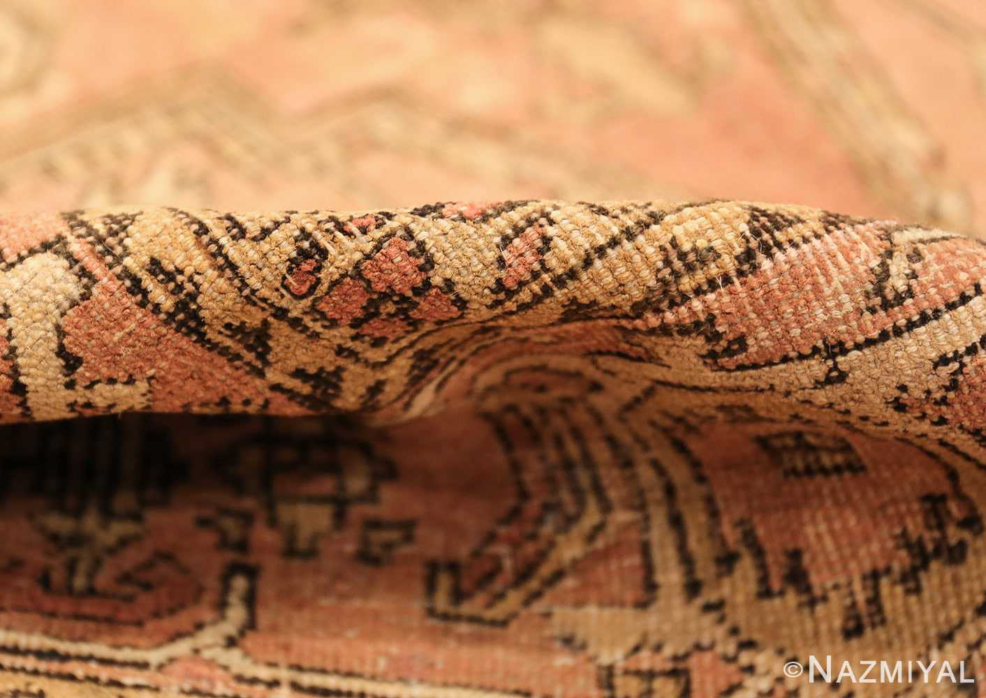 antique amritsar indian rug 1074 pile Nazmiyal