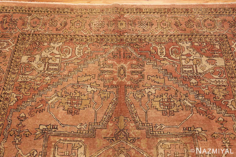antique amritsar indian rug 1074 top Nazmiyal