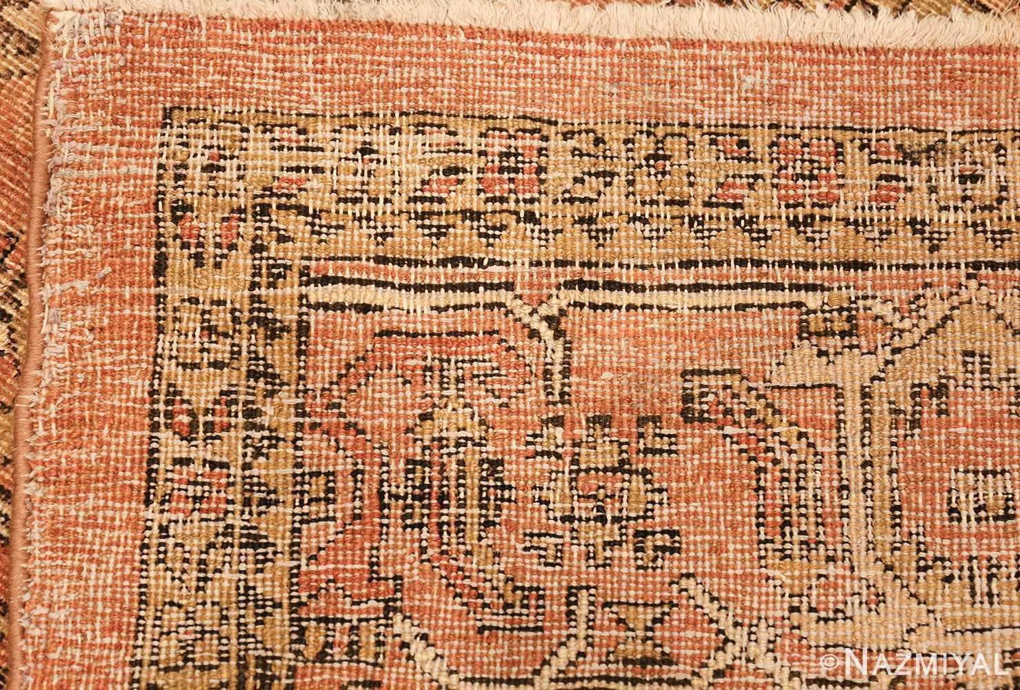 antique amritsar indian rug 1074 weave Nazmiyal