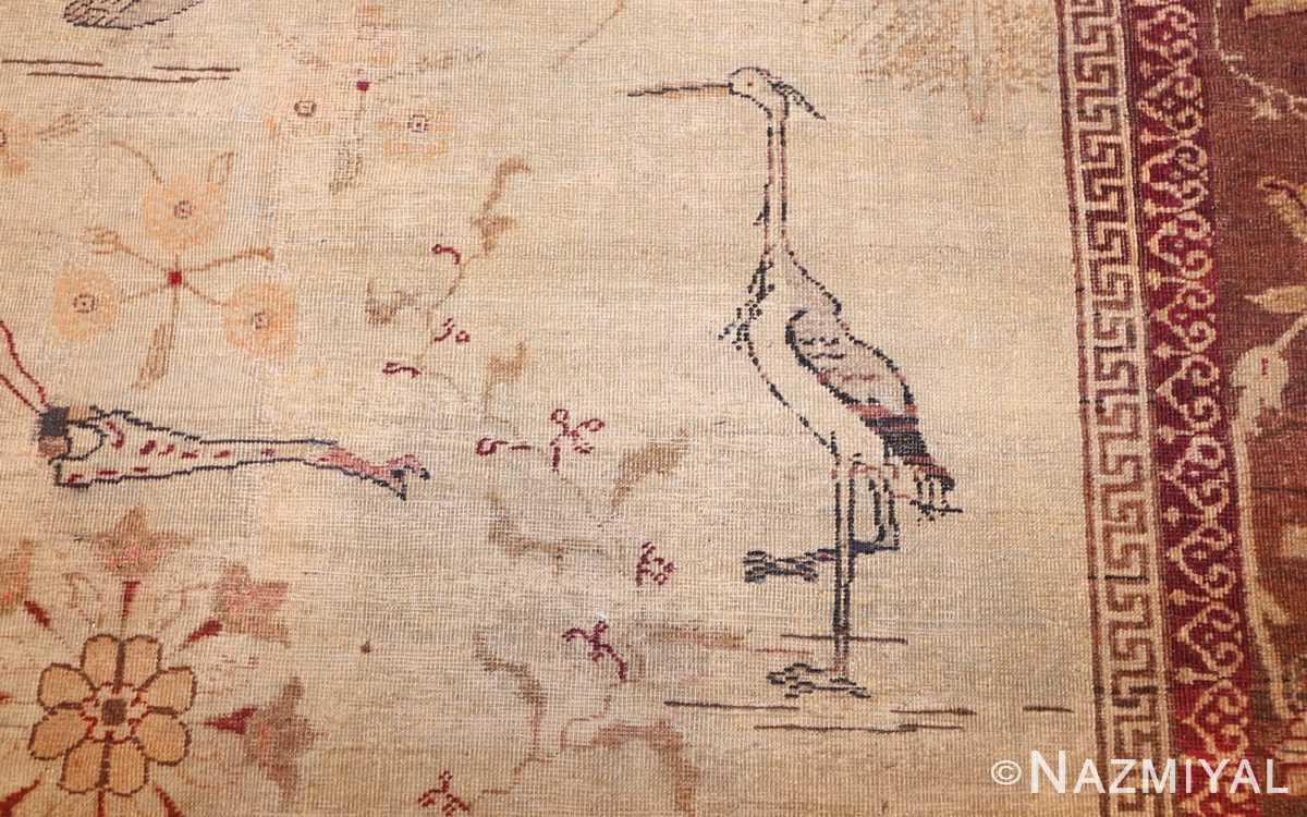 antique amritsar indian rug 42169 crain Nazmiyal