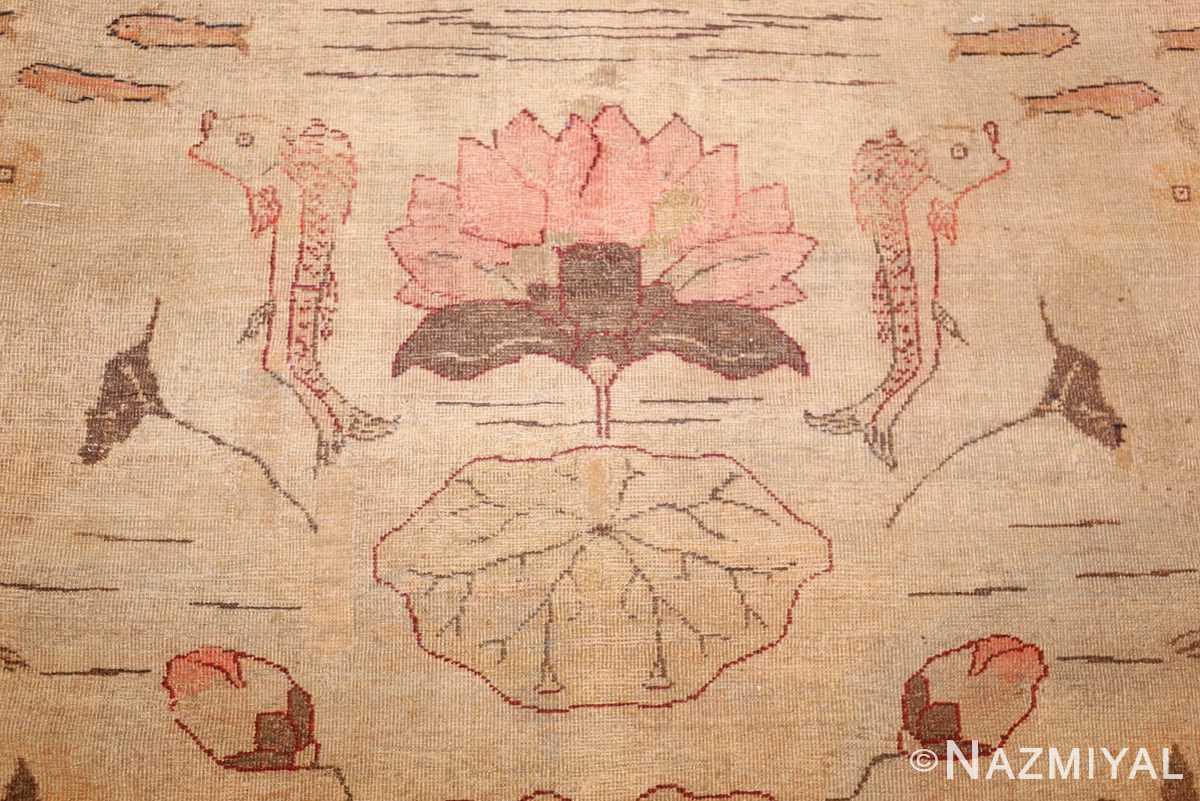 antique amritsar indian rug 42169 lotus Nazmiyal