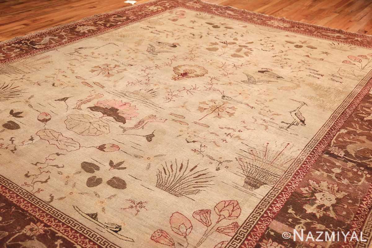 antique amritsar indian rug 42169 side Nazmiyal