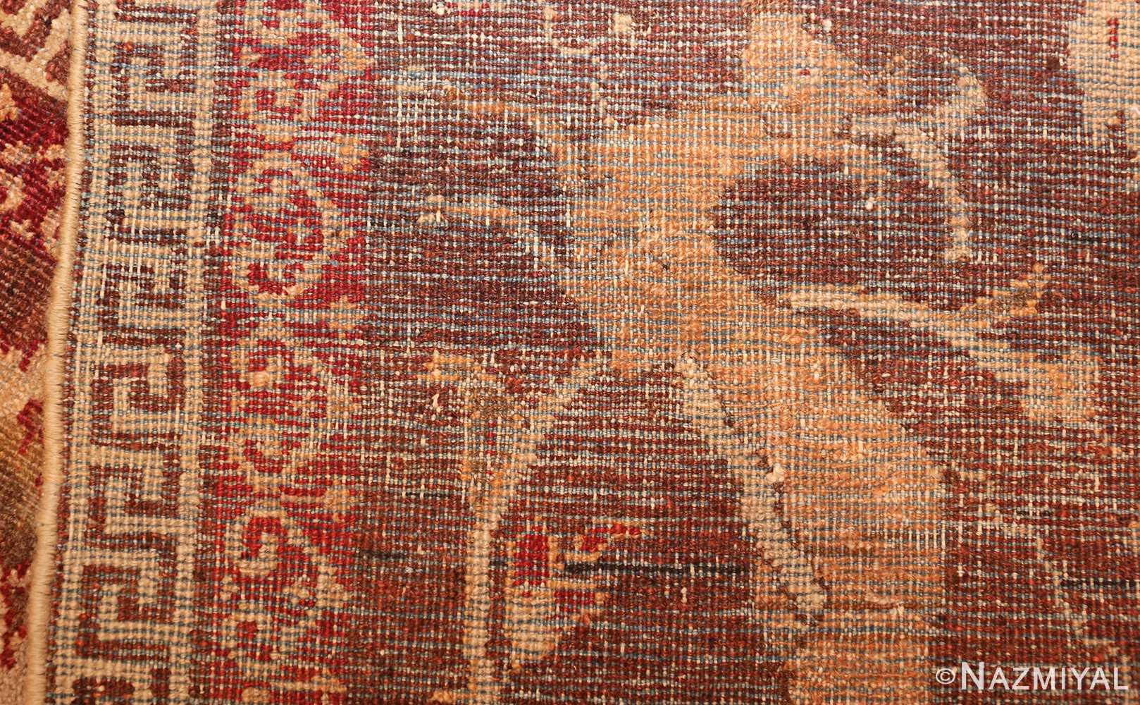 antique amritsar indian rug 42169 weave Nazmiyal