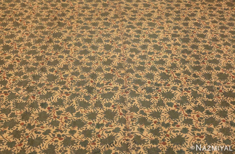 antique english chenille english rug 3418 field Nazmiyal