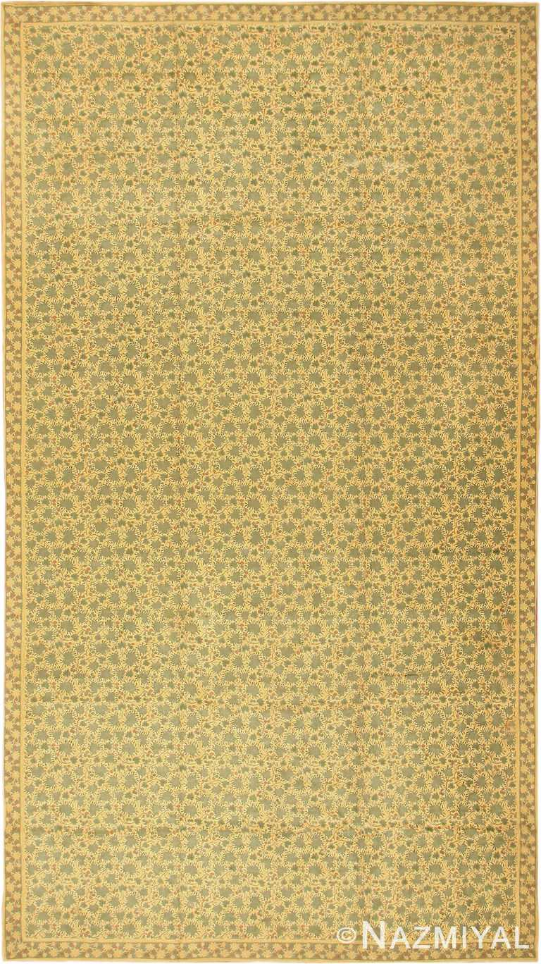 Antique English Chenille English Rug 3418 by Nazmiyal Antique Rugs