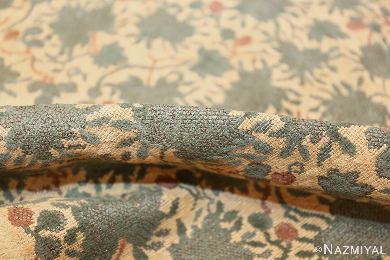 antique english chenille english rug 3418 pile Nazmiyal