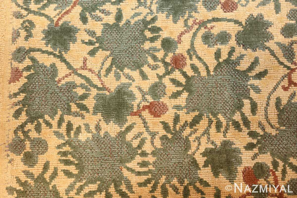 antique english chenille english rug 3418 texture Nazmiyal