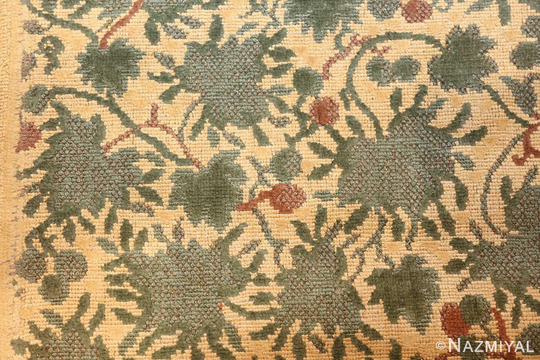 antique english chenille english rug 3418 texture Nazmiyal