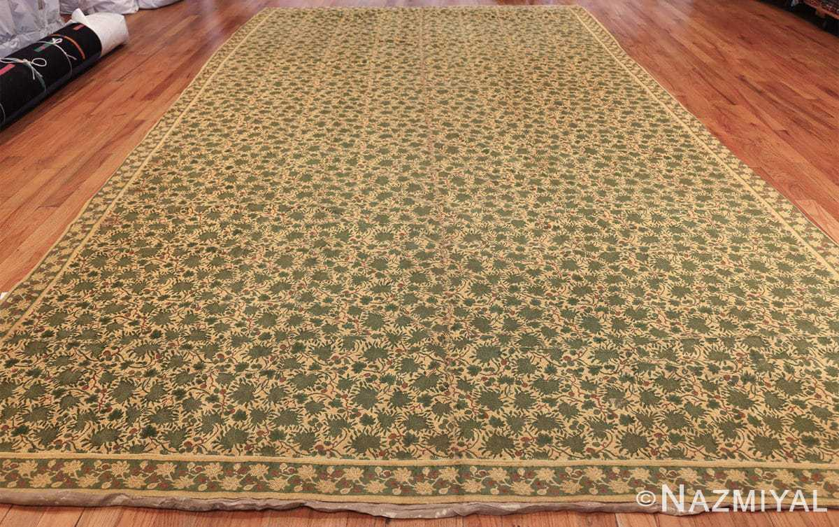 antique english chenille english rug 3418 whole Nazmiyal