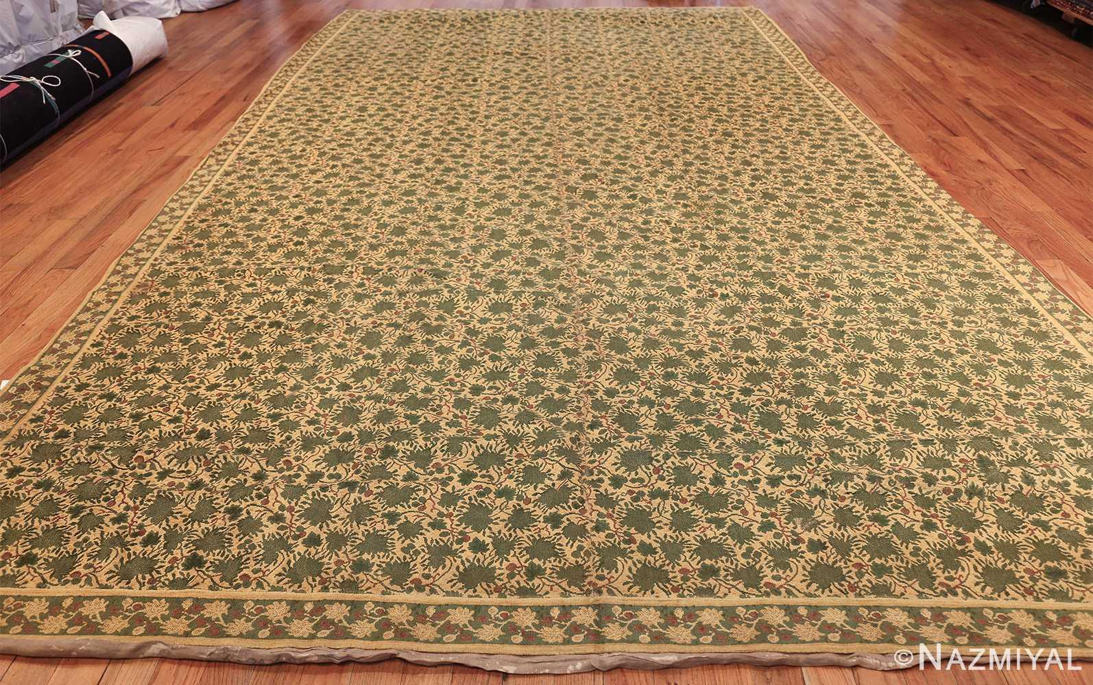 antique english chenille english rug 3418 whole Nazmiyal