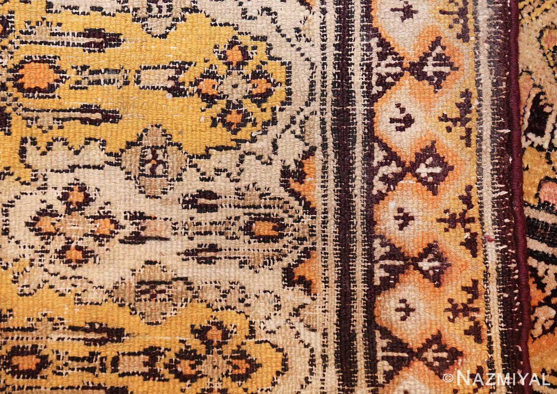 antique indian agra rug 3291 weave Nazmiyal