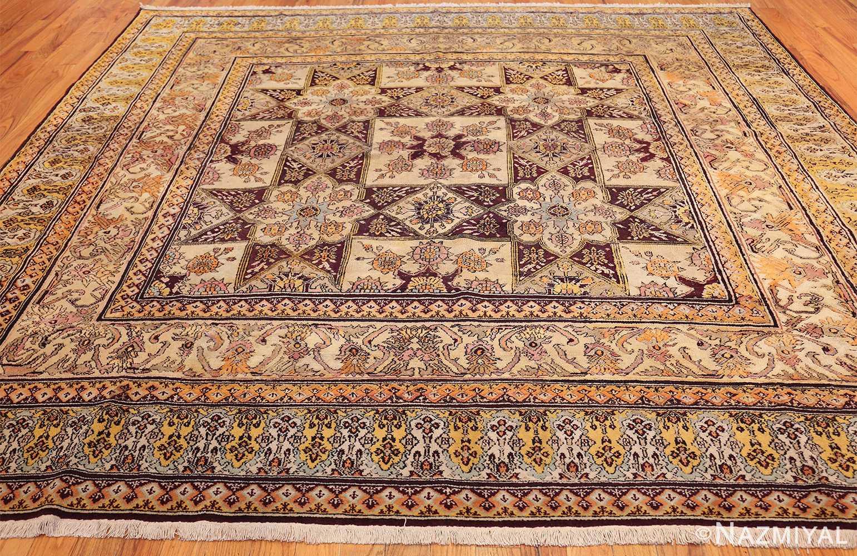 antique indian agra rug 3291 whole Nazmiyal