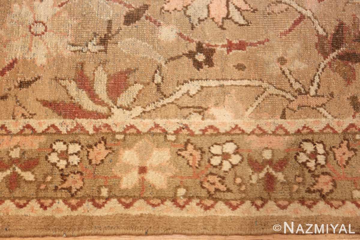 antique indian amritsar hallway runner rug 41971 border Nazmiyal