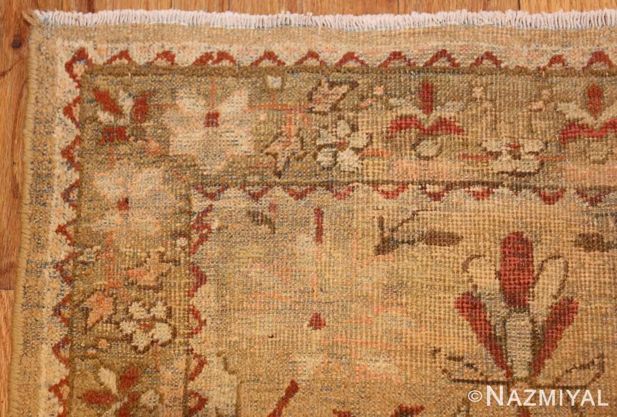 antique indian amritsar hallway runner rug 41971 corner Nazmiyal