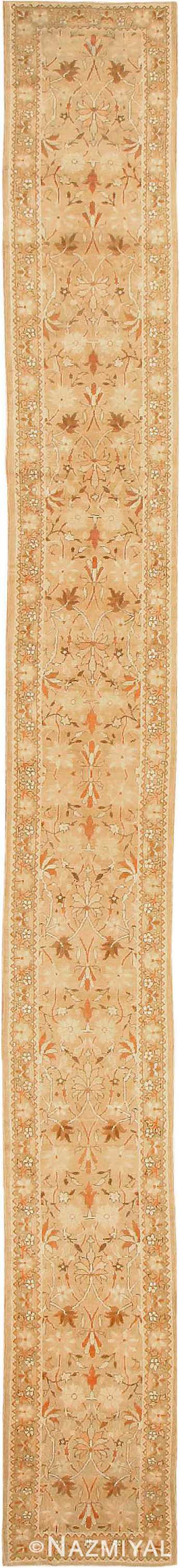 Antique Indian Amritsar Hallway Runner Rug #41971 by Nazmiyal Antique Rugs