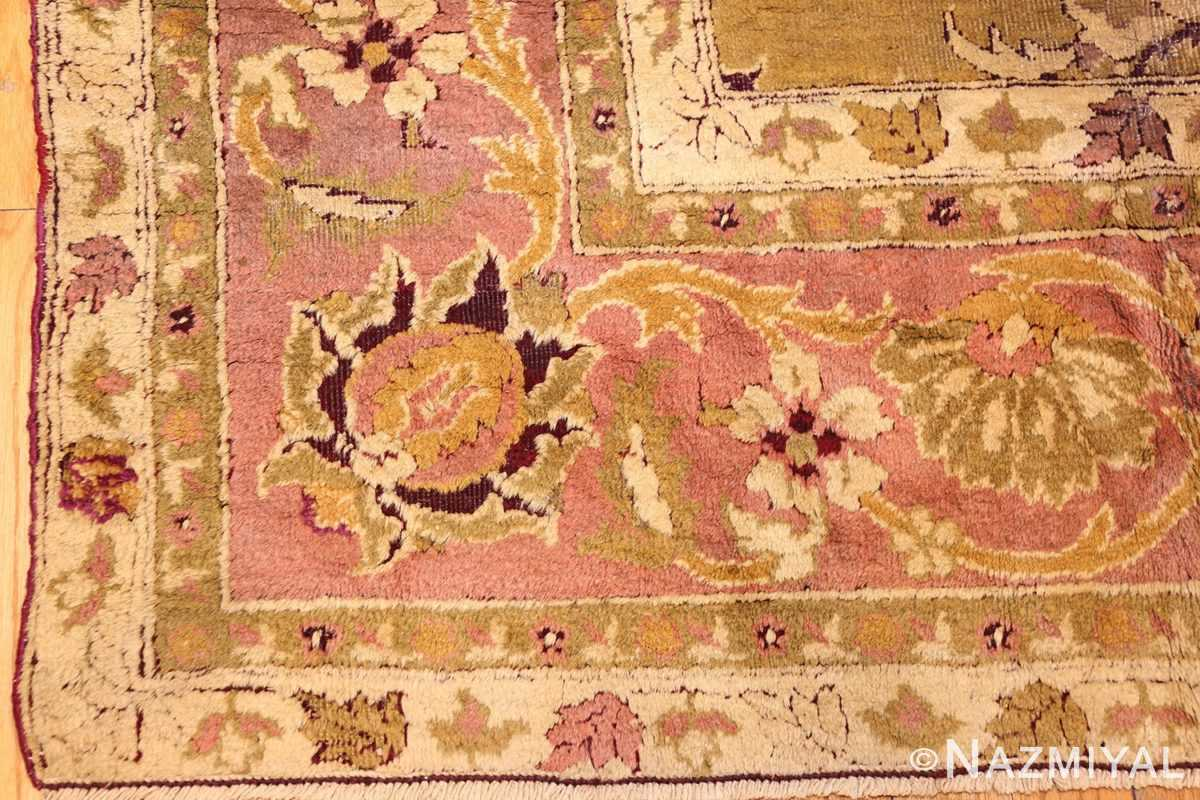 antique indian amritsar rug 1227 part Nazmiyal
