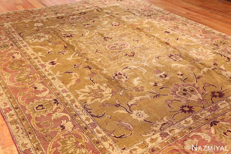 antique indian amritsar rug 1227 side Nazmiyal