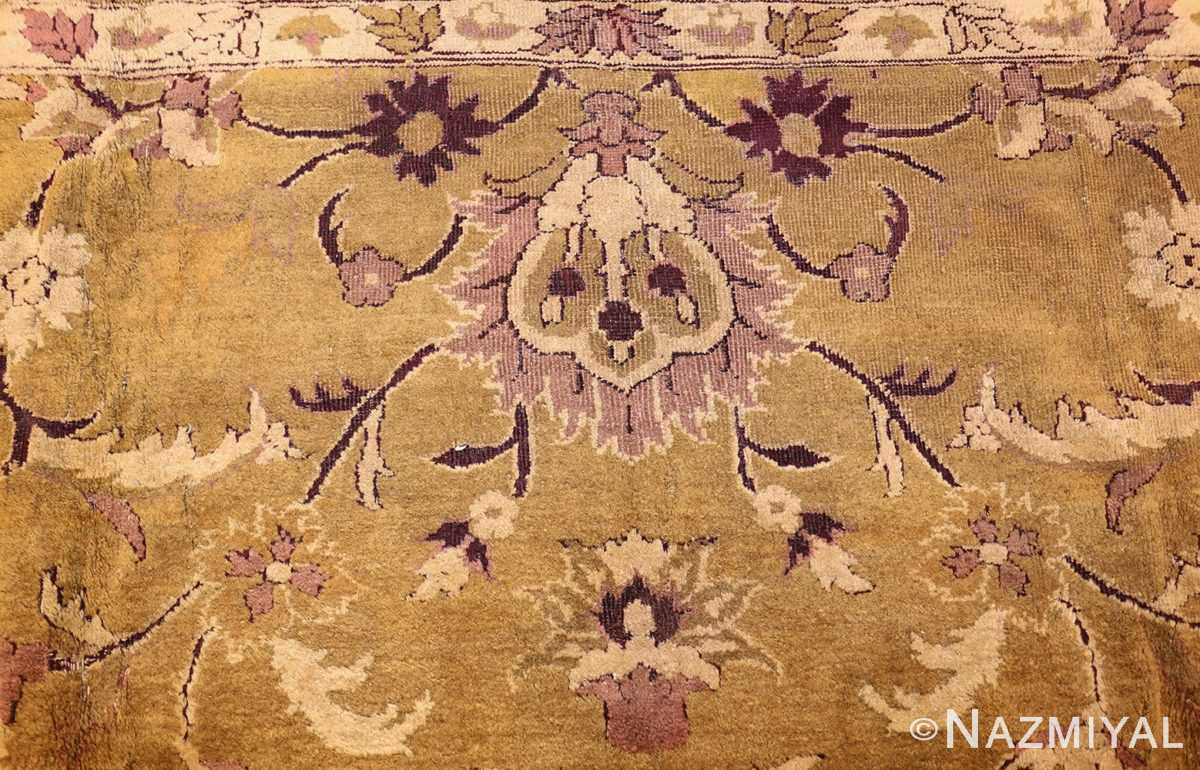 antique indian amritsar rug 1227 top Nazmiyal