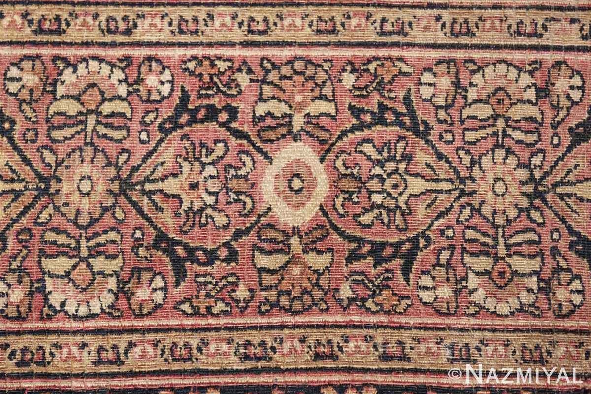 antique persian khorassan rug 854 closeup Nazmiyal
