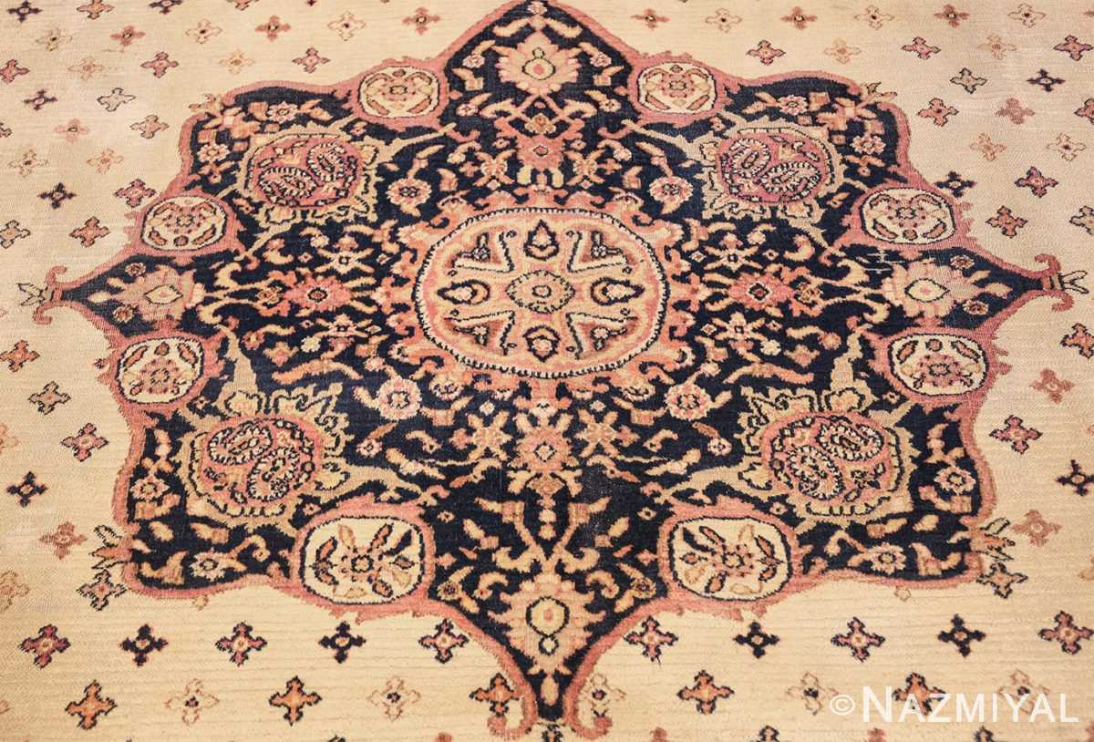 antique persian khorassan rug 854 medallion Nazmiyal